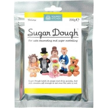 Yellow - SK Sugar Dough Modelling Paste 200g
