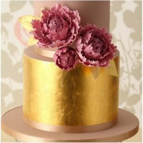 100% Edible 24 Carat Gold Leaf Transfer
