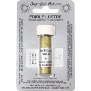Antique Gold - Edible Lustre Dusting Colour 2g
