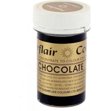 Chocolate - Spectral Paste Gel Food/Icing Colouring