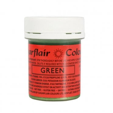 Green - Edible Glitter Paint 35g