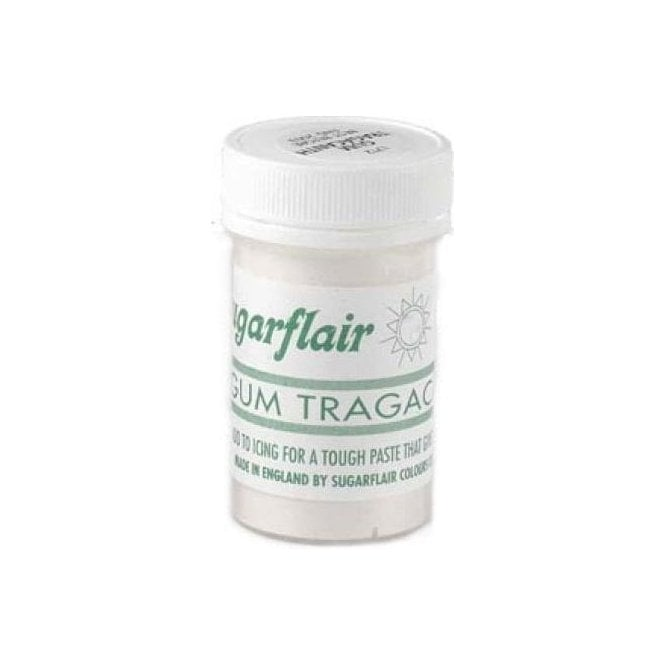 Sugarflair Colours Gum Tragacanth - Superior Professional Grade 14g