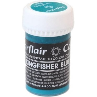 Kingfisher Blue - Pastel Paste Gel Food/Icing Colouring