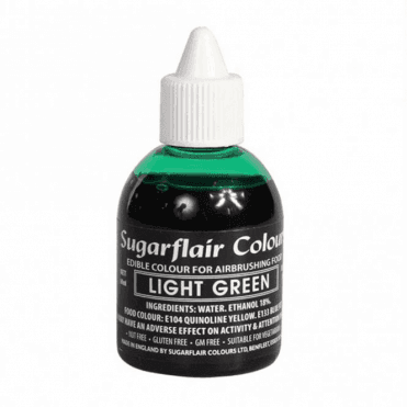 Light Green - Edible Airbrush Liquid Colouring 60ml