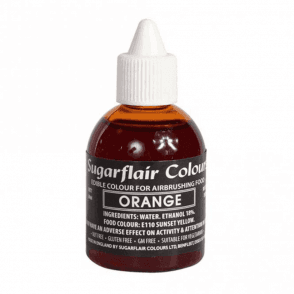 Orange - Edible Airbrush Liquid Colouring 60ml
