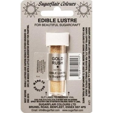 Pastel Gold - Edible Lustre Dusting Colour 2g
