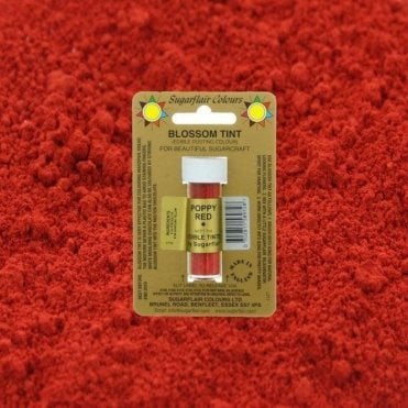 Poppy Red - Blossom Tint Dusting Colour 7ml Vial
