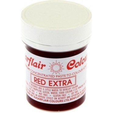 Red - Extra Concentrated Paste Gel Food / Icing Colourings