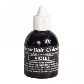 Violet - Edible Airbrush Liquid Colouring 60ml