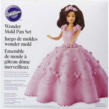 Classic Wonder Mould Doll Cake Kit Set