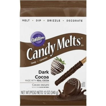 Dark Cocoa Candy Melts - 340g