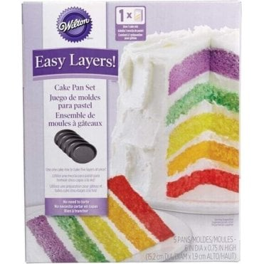 "Easy Layers! 6"" Ultimate Round Cake Pan Set"