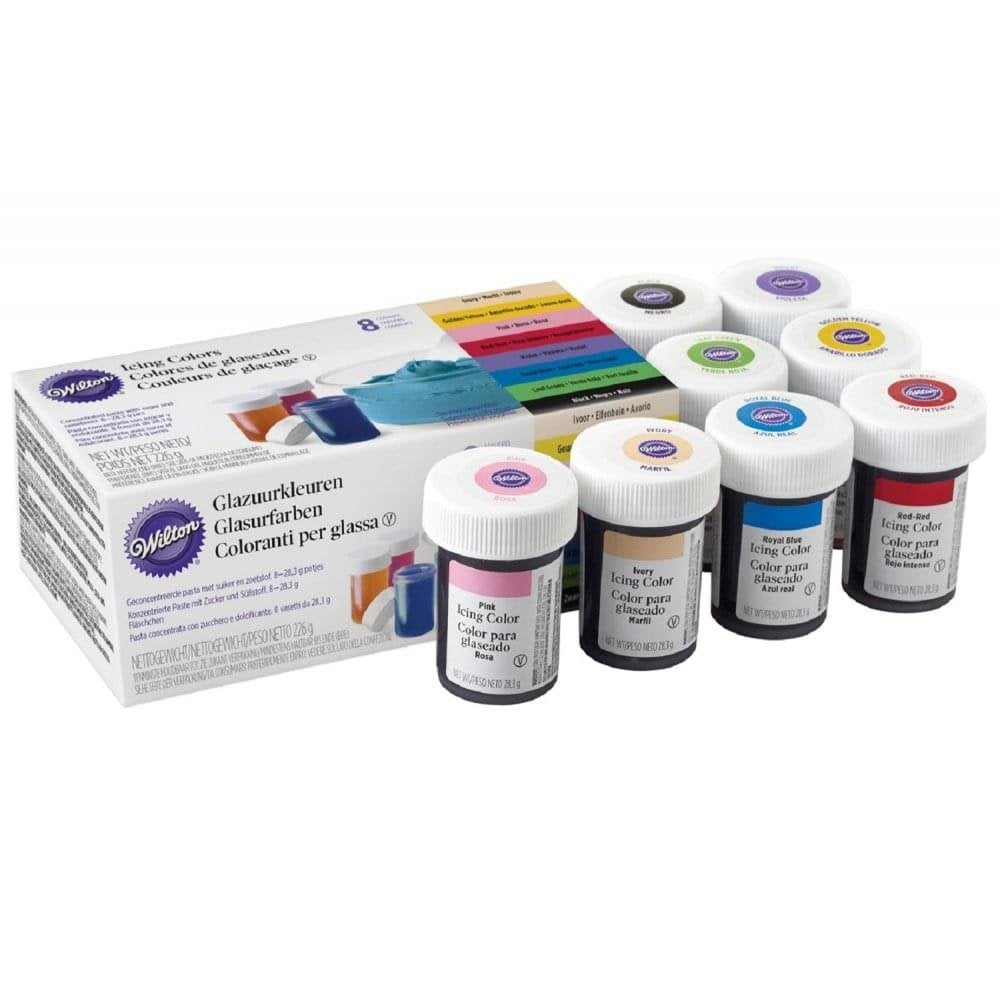 Wilton Gel Paste Food Icing Colouring - Choose Your Colours