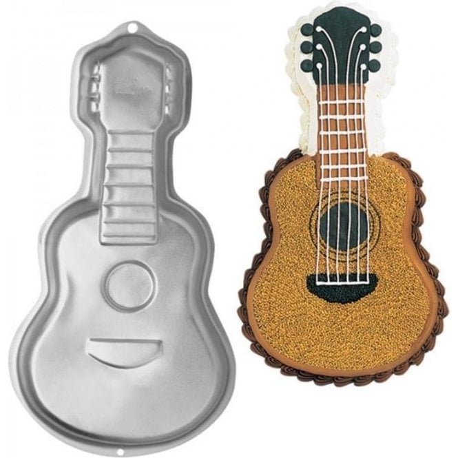 Guitar Cake Tin For Sale