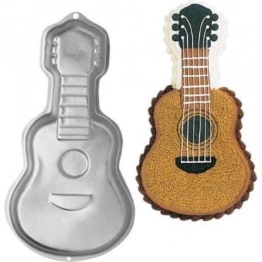 Guitar Pan Cake Baking Tin