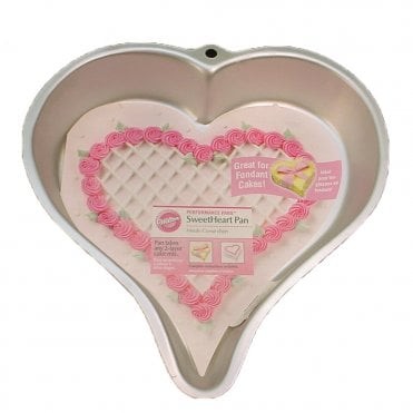 Heart Shape Aluminum Cake Pan