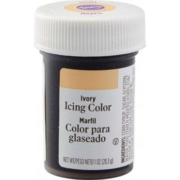 Ivory - Paste Food Colouring Icing Colour 28g