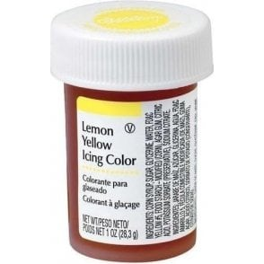 Lemon Yellow - Paste Food Colouring Icing Colour 28g