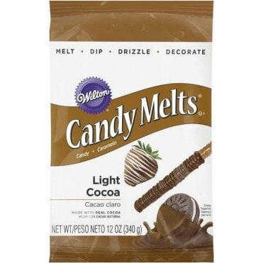 Light Cocoa Candy Melts - 340g