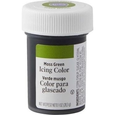 Moss Green - Paste Food Colouring Icing Colour 28g