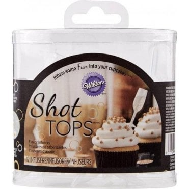 Shot Tops Champagne Combo Set - 12 Infusers