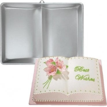 Small Book - Cake Baking Tin Pan