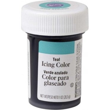 Teal - Paste Food Colouring Icing Colour 28g