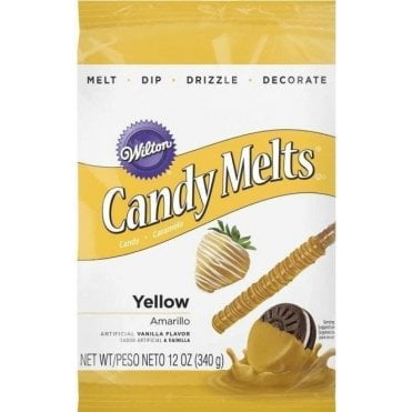 Yellow Candy Melts - 340g