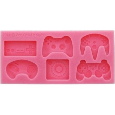 Gaming Controller - Cake Decorating Silicone Mould