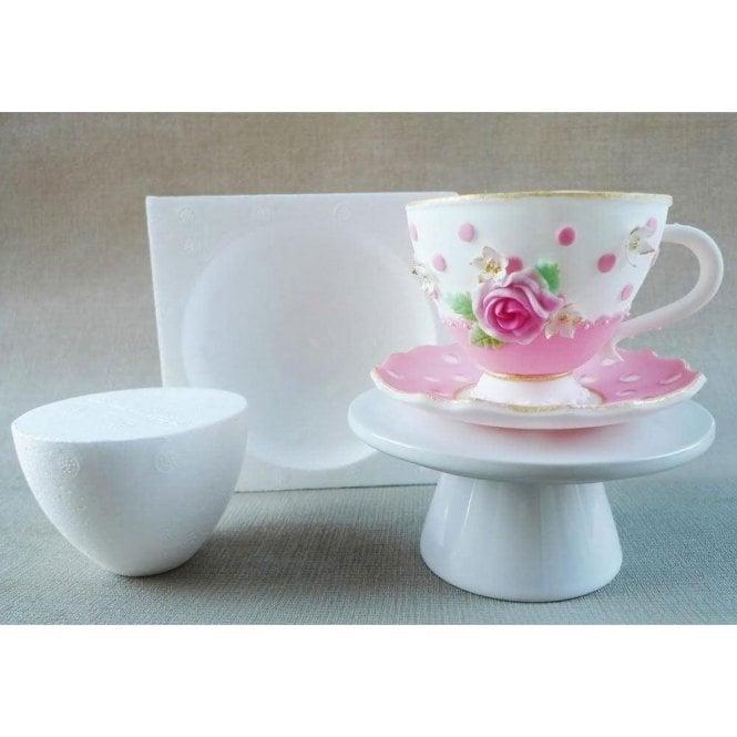 Zee Chik Designs Tea Cup Amp Saucer Mould Amp Former